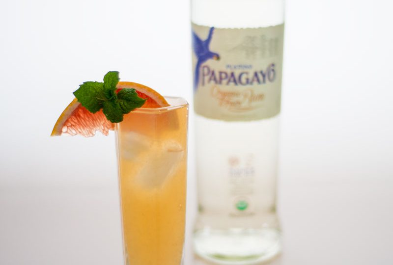 The Grapefruit Rum Cooler