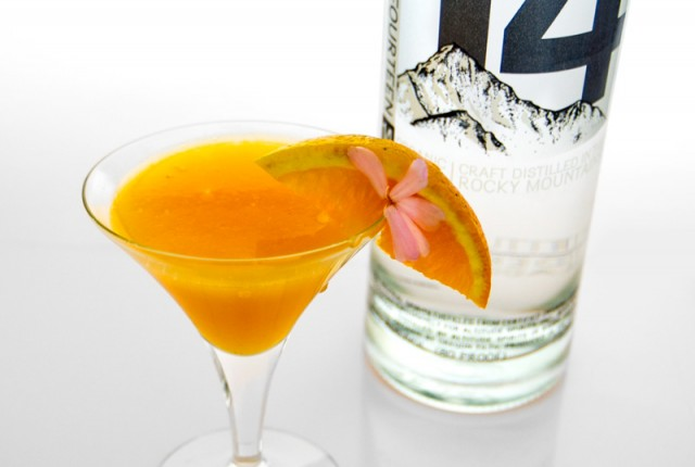 Eastern Sunset Martini