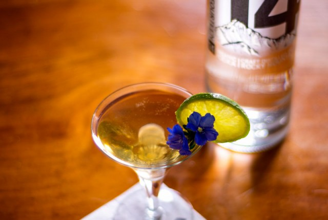 The Spring Lavender Martini